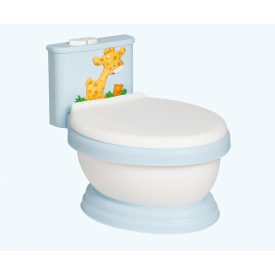 Blue Giraffe Musical potty toilet