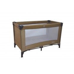 Simple travel cot Classic Beige