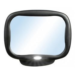Rectangular Security Mirror with LED light