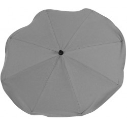 Gray chair umbrella with UV filter