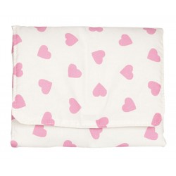Baby changer bag Pink Hearts