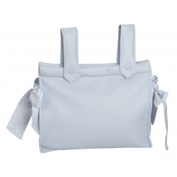 Classic Baby Bag Blue Flowers